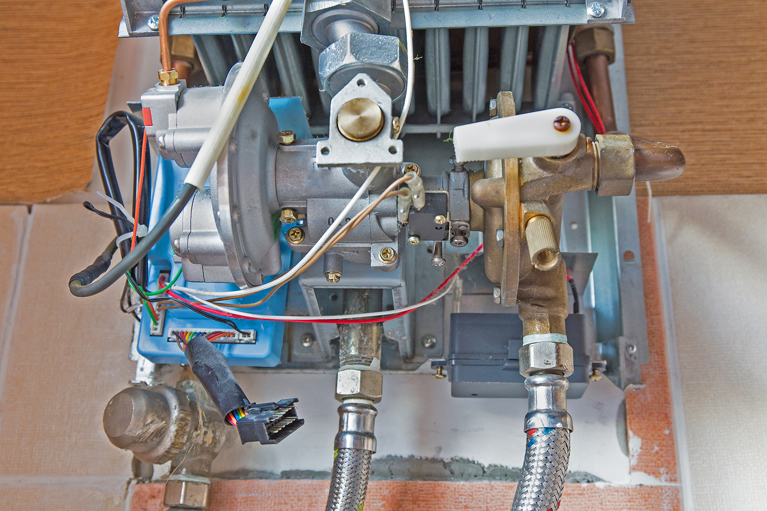 Oil Gas Burner Repair 2 - SERVICES